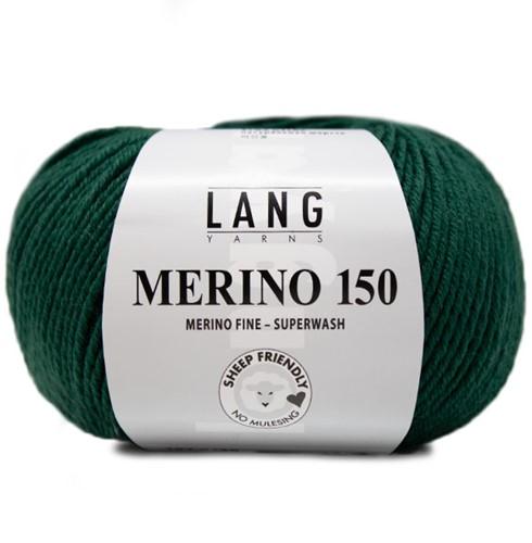 Lang Yarns Merino 150 118 Dark Green