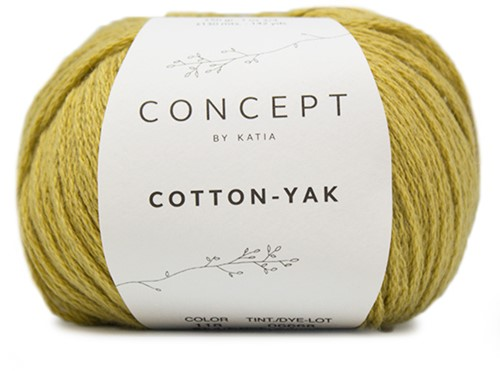 Katia Cotton-Yak 118 Mustard