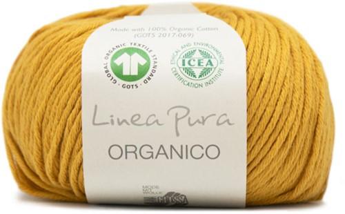 Lana Grossa Organico Uni 119 Yellow