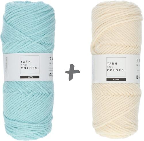 Reversible Dream Blanket 3.0 CAL Crochet Kit 11 Jade Gravel (Accent Colour)