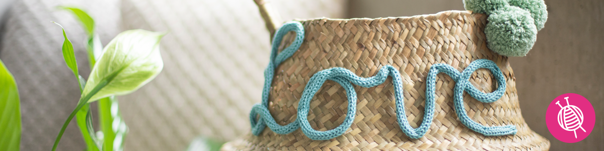 Pimp Up Your Baskets: 4 DIY Basket Accessories with Free Pattern