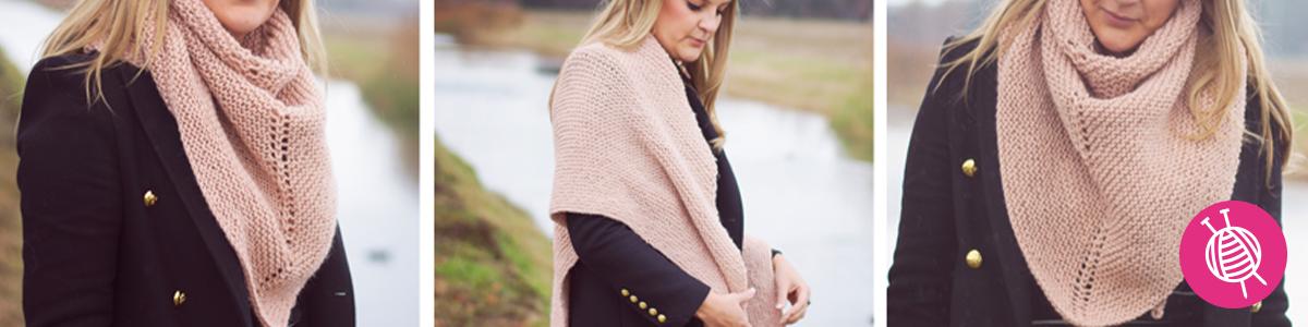 Pointed Scarf - Free Knitting Pattern