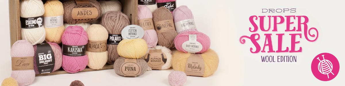 DROPS Super Sale - Wool Edition 2016