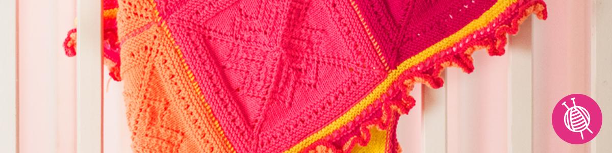 Knitting a Baby Blanket - Free Pattern