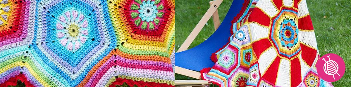 Stylecraft CAL Carousel Blanket