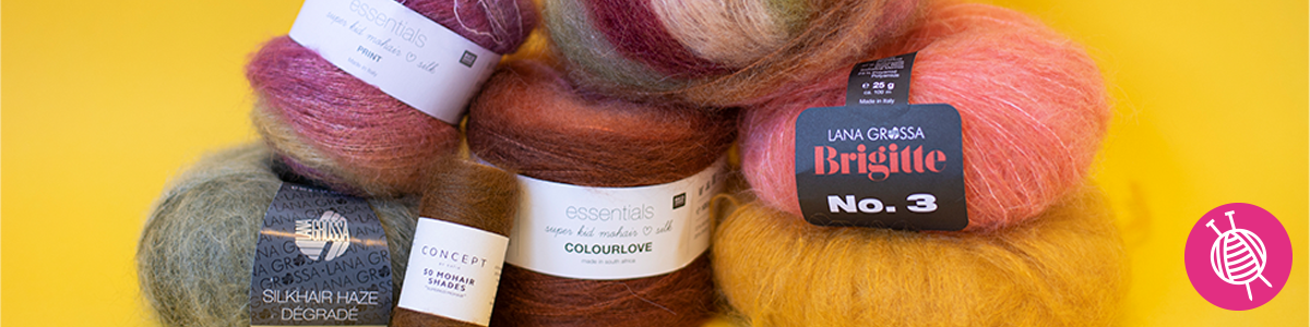 Knitting and Crocheting with Mohair Yarn