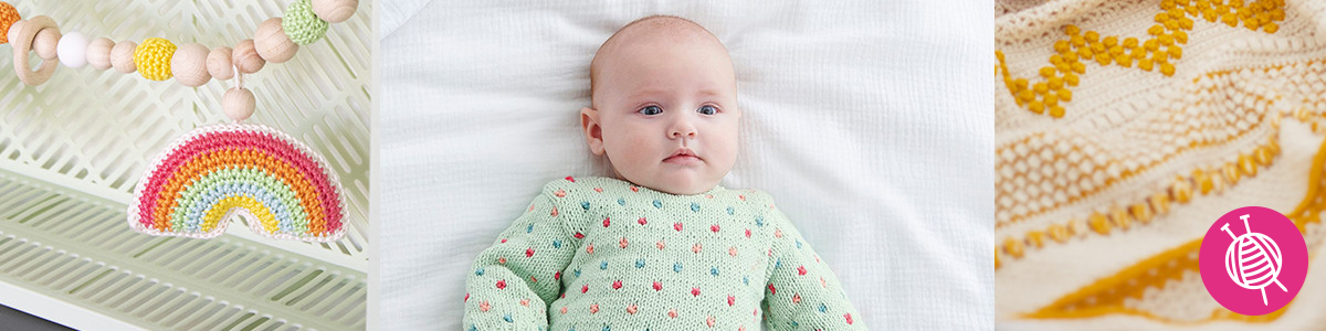 Top 5 Knitting and Crochet Projects for Babies and Kids