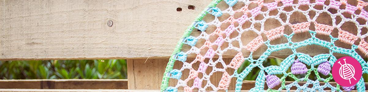 Crocheted Mandala - Make your own!