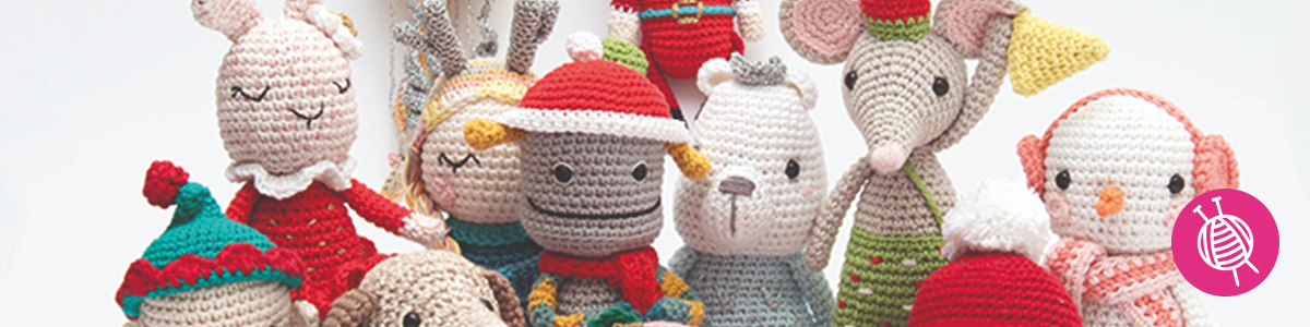 Christmas Crochet Along – Lovely amigurumis for this year's Christmas decoration