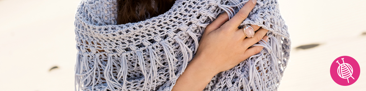 Only Cotton Wrap - Free Crochet Pattern