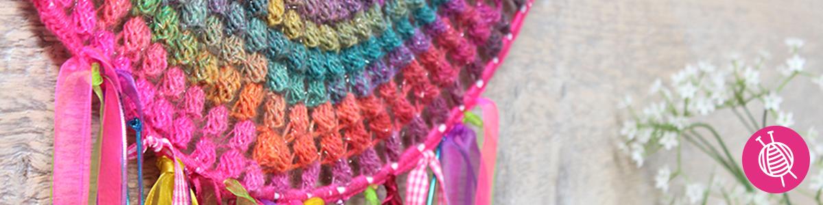Crochet Dreamcatcher with Mille Colori - Free Crochet Pattern