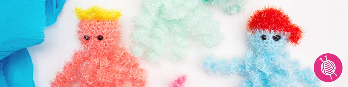 Crochet Sea Creatures with Rico Creative Bubble