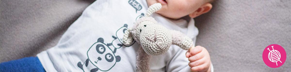 Sheep Rattle - Free Crochet Pattern