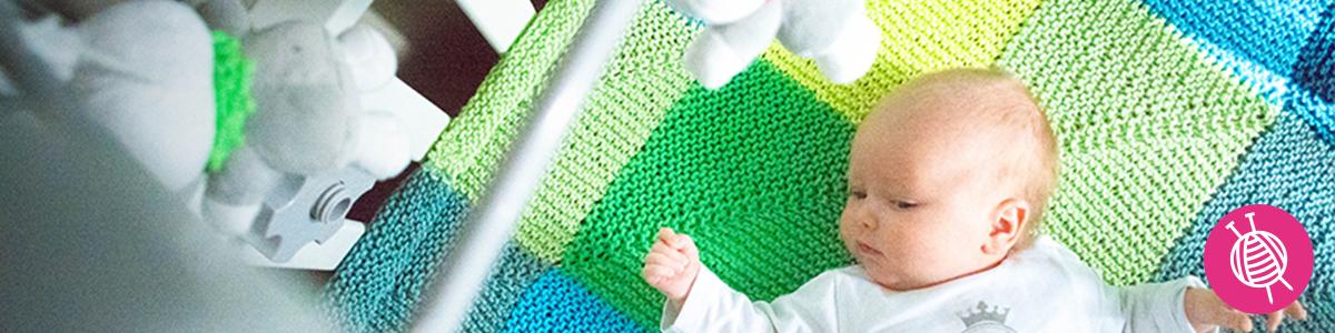 Super Must-have Crib Blanket - Free Knitting Pattern