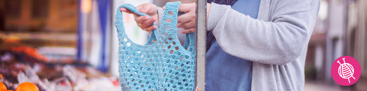 Crocheted bag - Perfect for shopping!
