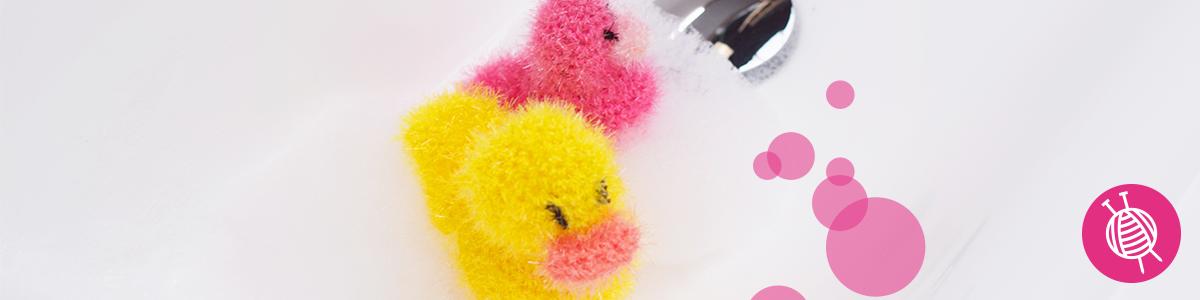 Spongy Rubber Duck - Free Crochet Pattern