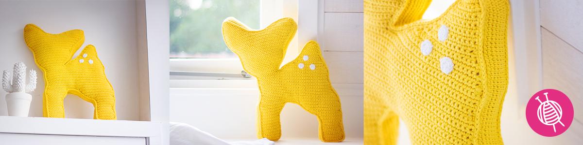Oh Deer! - Crochet a cute Pillow