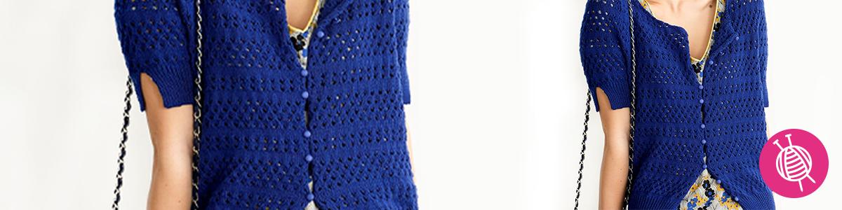 Summer Cardigan - Free Knitting Pattern