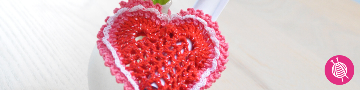 Crochet a Heart for Mother's Day