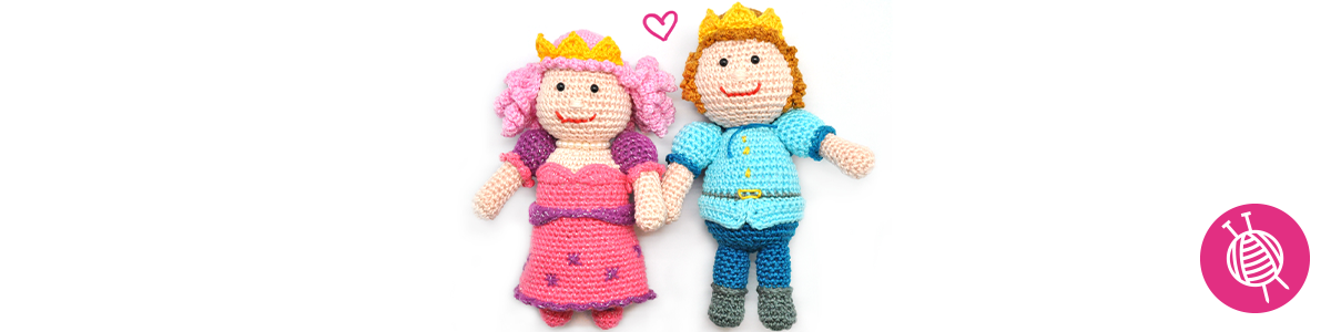Crochet Prince and Princess: The cutest amigurumi!