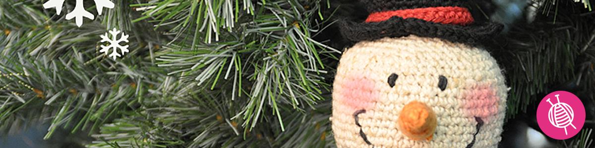 Winter project: Crochet a Snowman