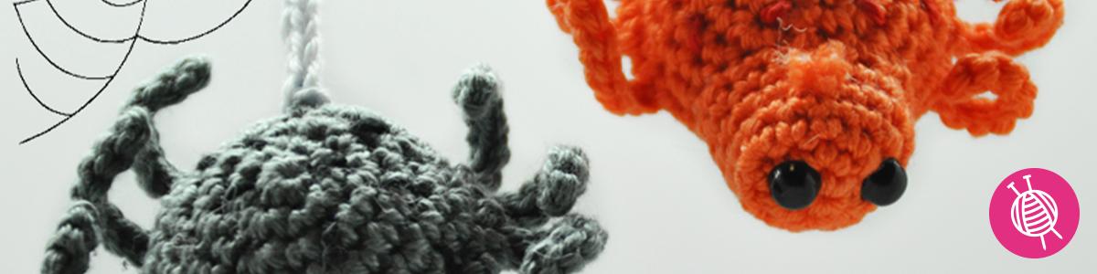 Crochet a Spider for Halloween