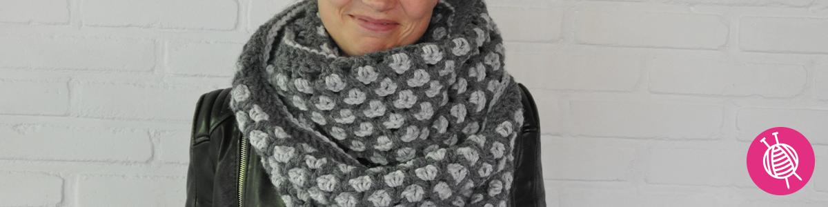 Crochet an Infinity Scarf with Katia Alaska
