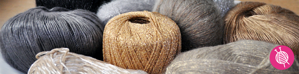 SHINE with glitter yarn for the holidays