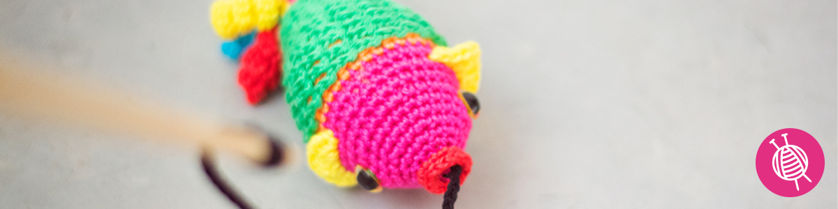 Crochet a Fish for World Animal Day