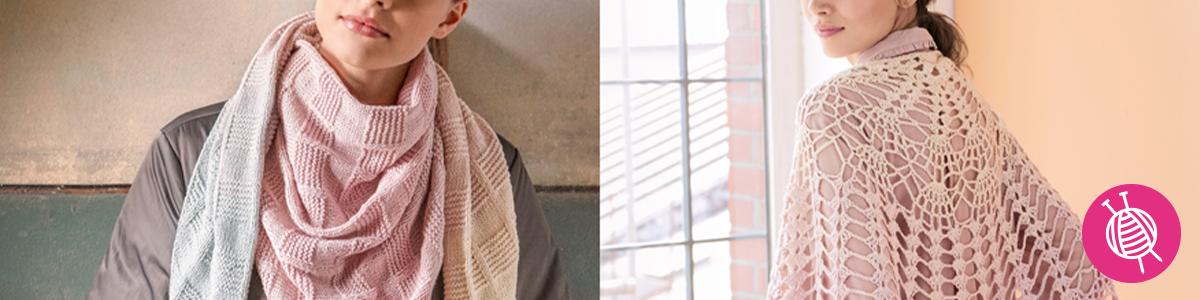Shades of Merino Cotton Scarves