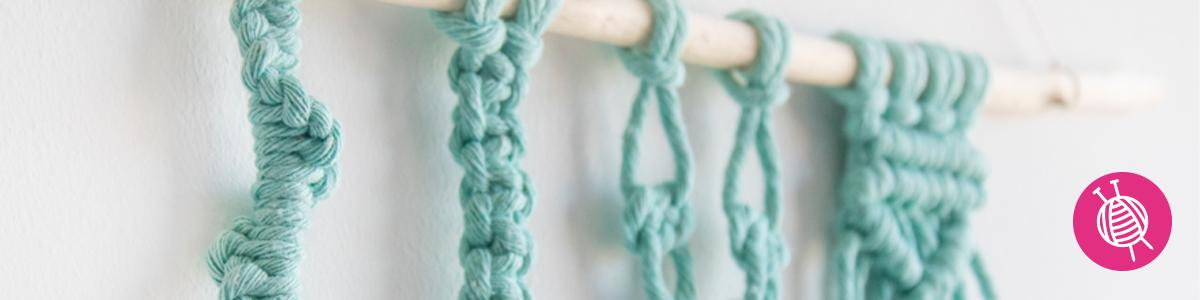 Macramé | How to tie macramé knots, plus loads of inspiration!