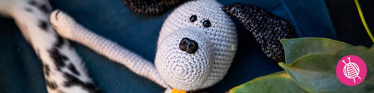 Cuddly Dog Max - Free Crochet Pattern
