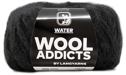 Wooladdicts To-Ease-Sorrow Sweater Knit Kit 11 S Anthracite