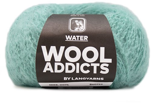 Wooladdicts To-Ease-Sorrow Sweater Knit Kit 12 L Atlantic