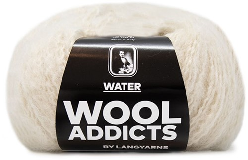 Wooladdicts To-Ease-Sorrow Sweater Knit Kit 13 M Off-White