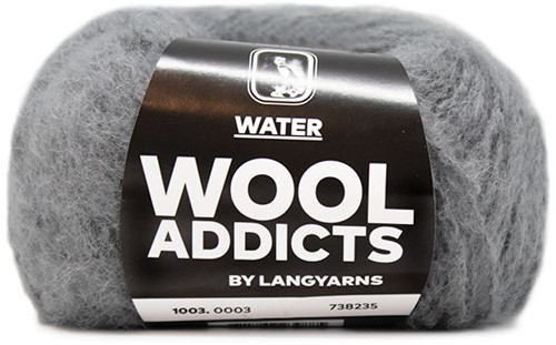 Wooladdicts To-Ease-Sorrow Sweater Knit Kit 1 L Light Grey