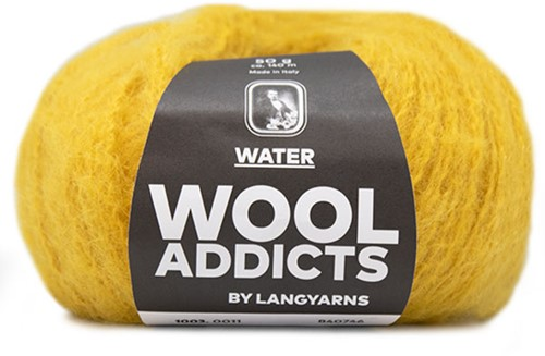 Wooladdicts To-Ease-Sorrow Sweater Knit Kit 4 L Ocher