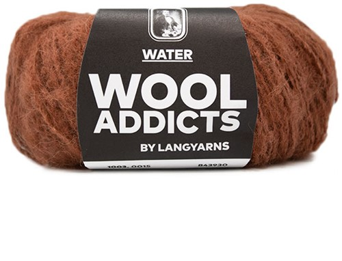 Wooladdicts To-Ease-Sorrow Sweater Knit Kit 5 S Amber