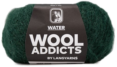 Wooladdicts To-Ease-Sorrow Sweater Knit Kit 6 M Moss