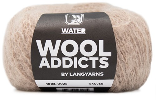 Wooladdicts To-Ease-Sorrow Sweater Knit Kit 8 M Beige