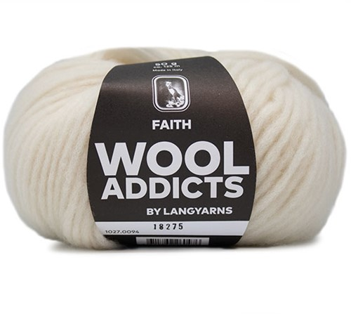 Wooladdicts Wild Wandress Sweater Knit Kit 10 XL Off-White