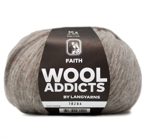 Wooladdicts Wild Wandress Sweater Knit Kit 11 XL Sand