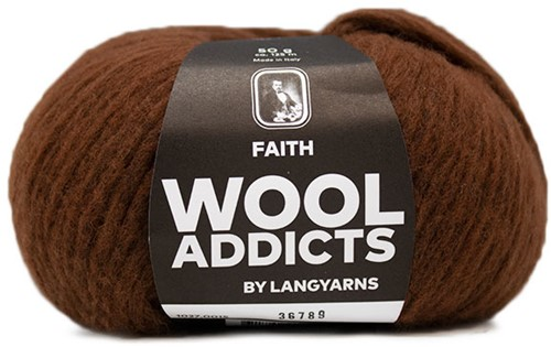 Wooladdicts Wild Wandress Sweater Knit Kit 4 XL Amber Mélange
