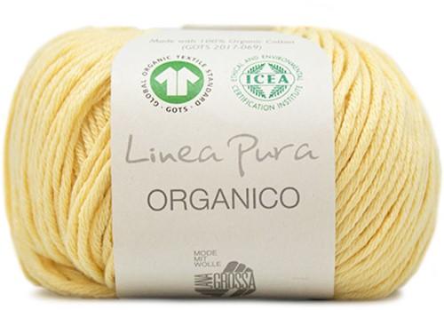 Lana Grossa Organico Uni 120 Light Yellow
