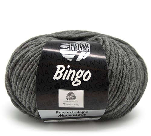 Lana Grossa Bingo 120 Dark Grey Mottled