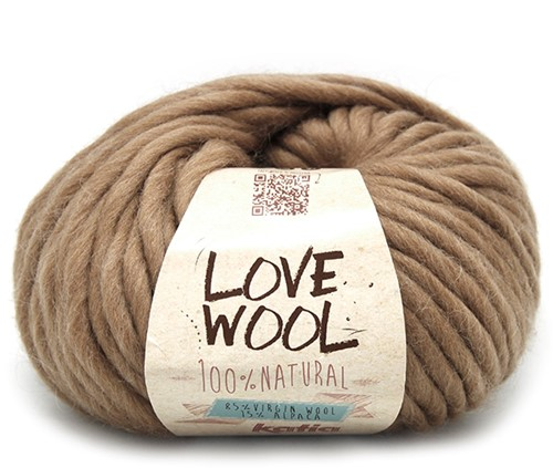 Katia Love Wool 120 Camel