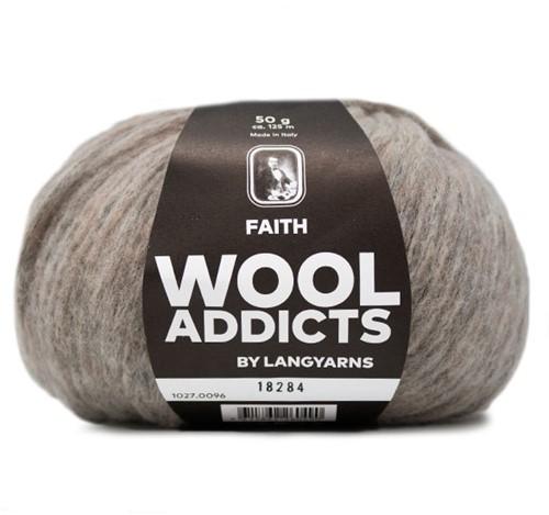 Wooladdicts Boho Soul Hooded Scarf Knit Kit 11 Sand
