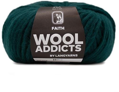 Wooladdicts Unique Mosaic Scarf Crochet Kit 5 Moss Mélange