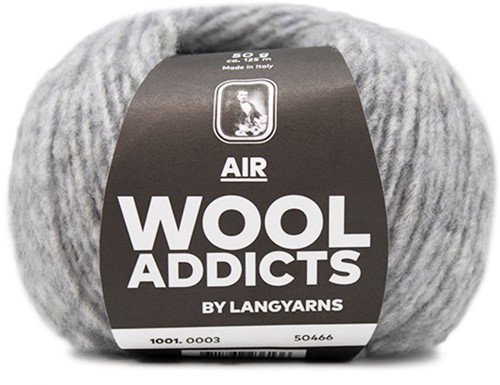 Wooladdicts City Life Sweater Knit Kit 1 S Light Grey Mélange