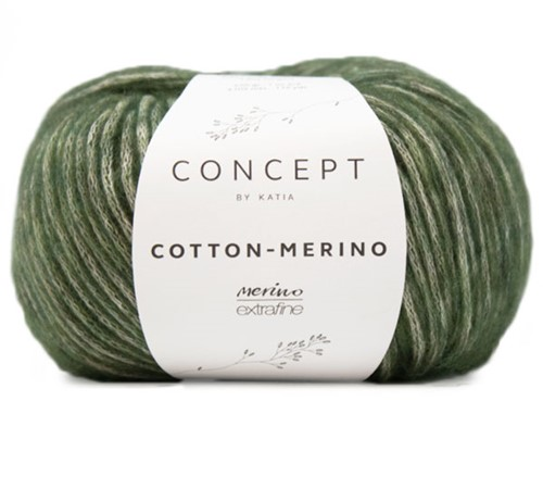 Katia Cotton-Merino 122 Pale green